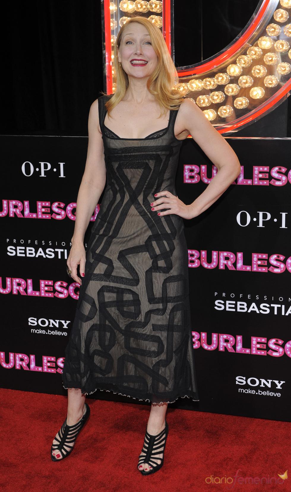 Patricia Clarkson en la premiere de 'Burlesque'