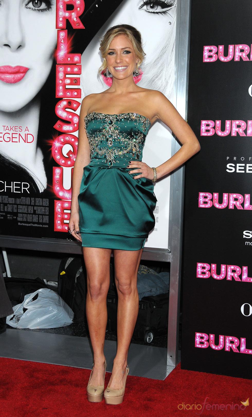 Kristin Cavallari en la premiere de 'Burlesque'