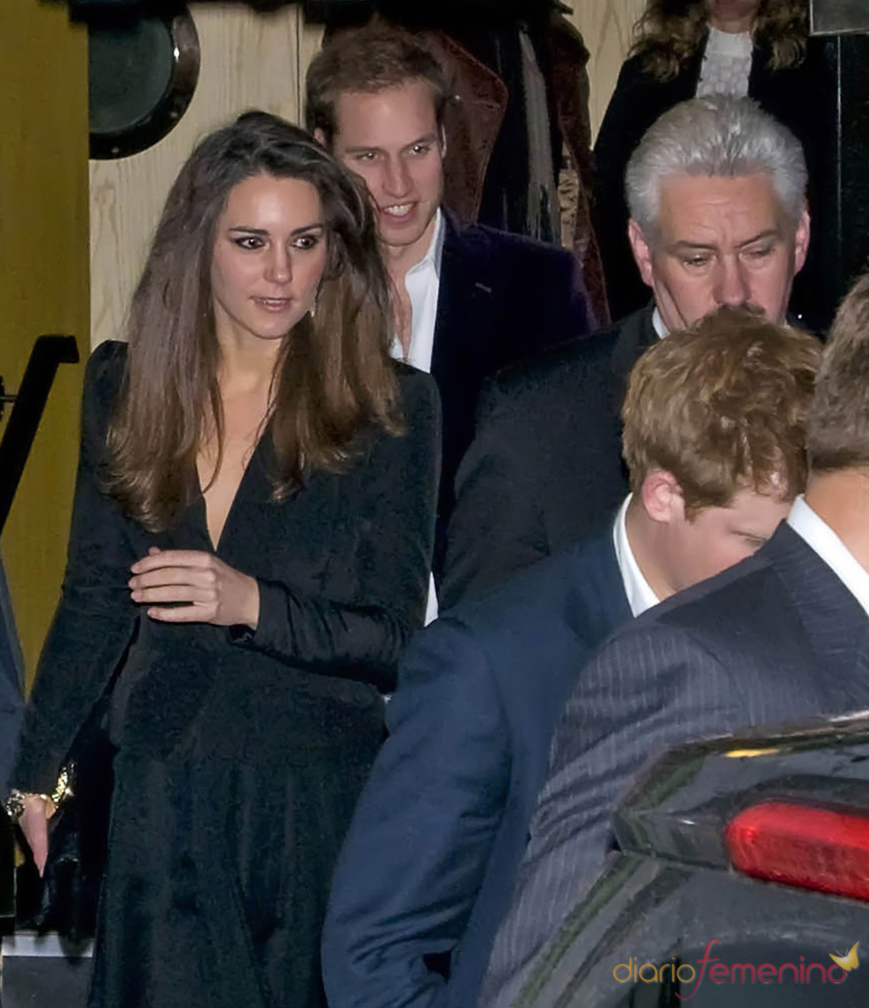 El principe Guillermo y Kate Middleton en Londres