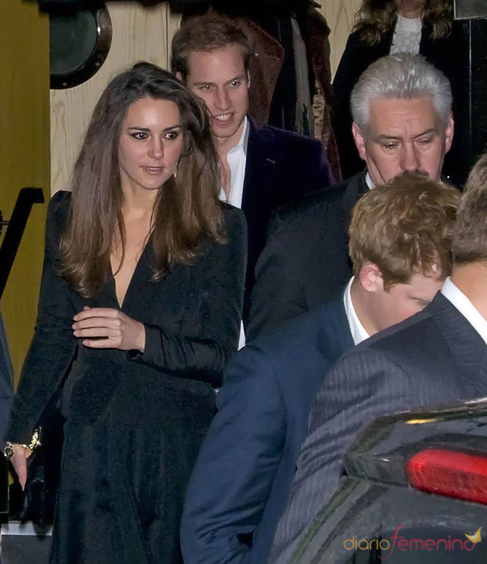 El principe Guillermo y Kate Middleton en Londres