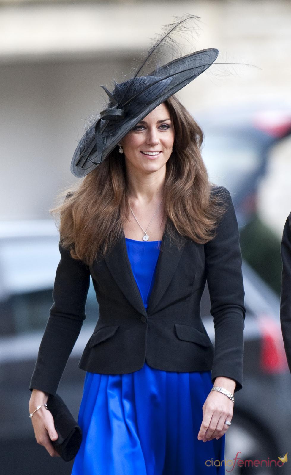 Kate Middleton en la boda de unos amigos