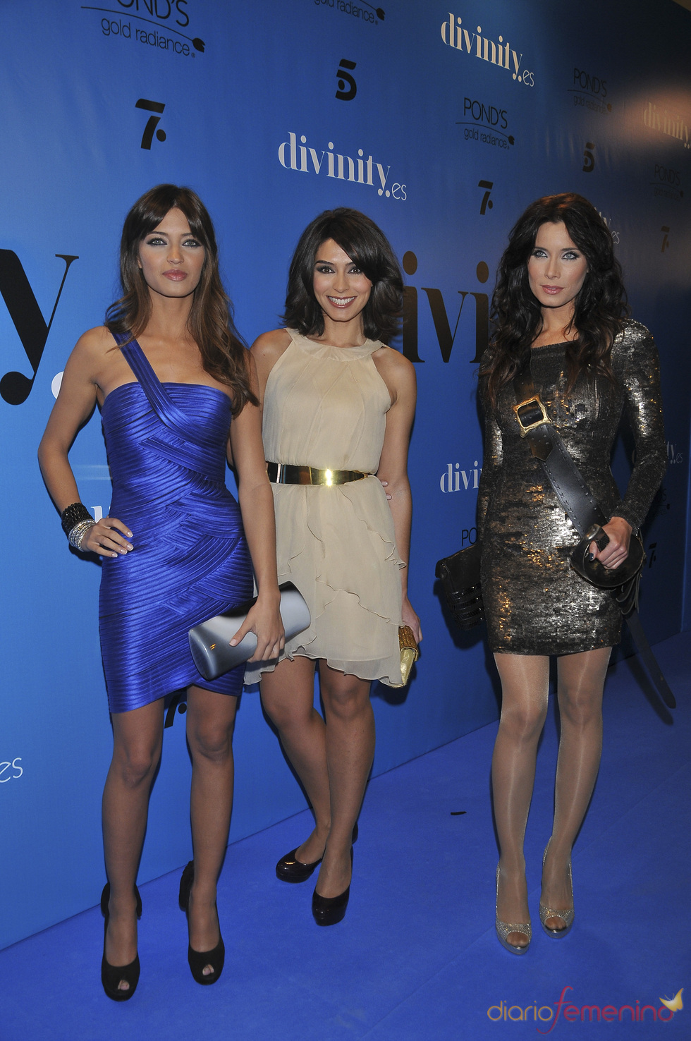 Sara Carbonero, Pilar Rubio y Marta Fernández