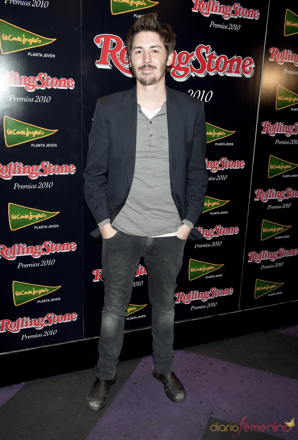 Aaron Thomas en los Premios Rolling Stone 2010