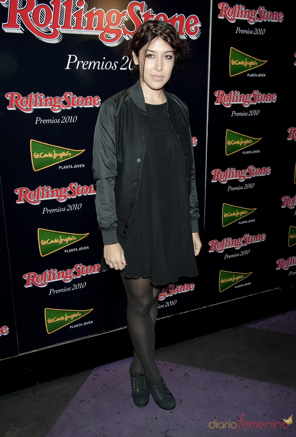 Anni B Sweet en los Premios Rolling Stone 2010