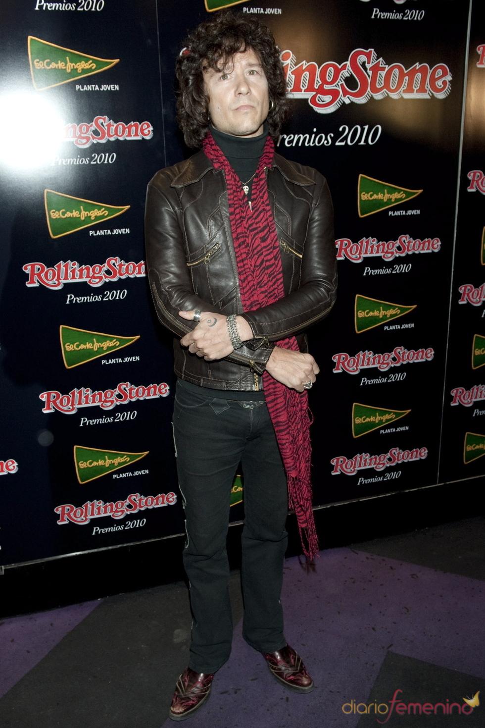 Enrique Bunbury en los Premios Rolling Stone 2010