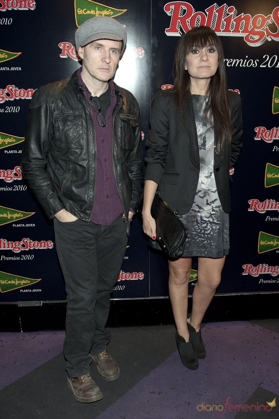 Premios Rolling Stone 2010 con Amaral