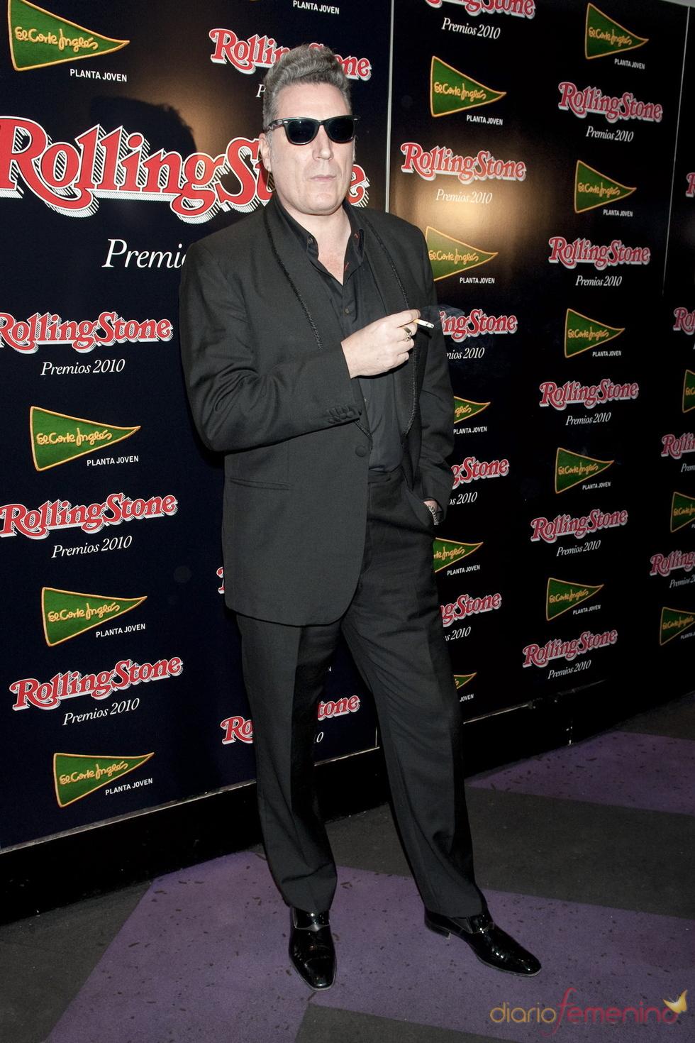 Loquillo en los Premios Rolling Stone 2010