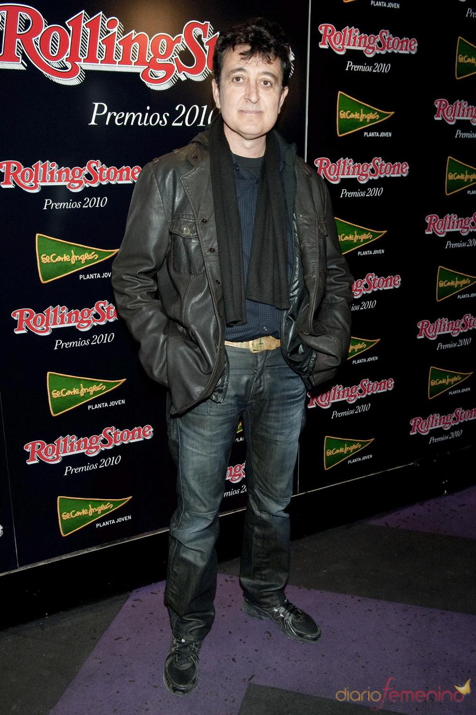 Premios Rolling Stone 2010 con Manolo García