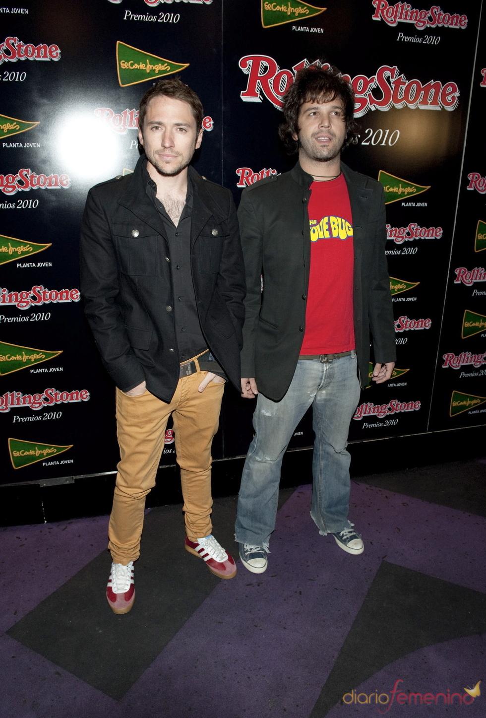 Premios Rolling Stone 2010 con Mota