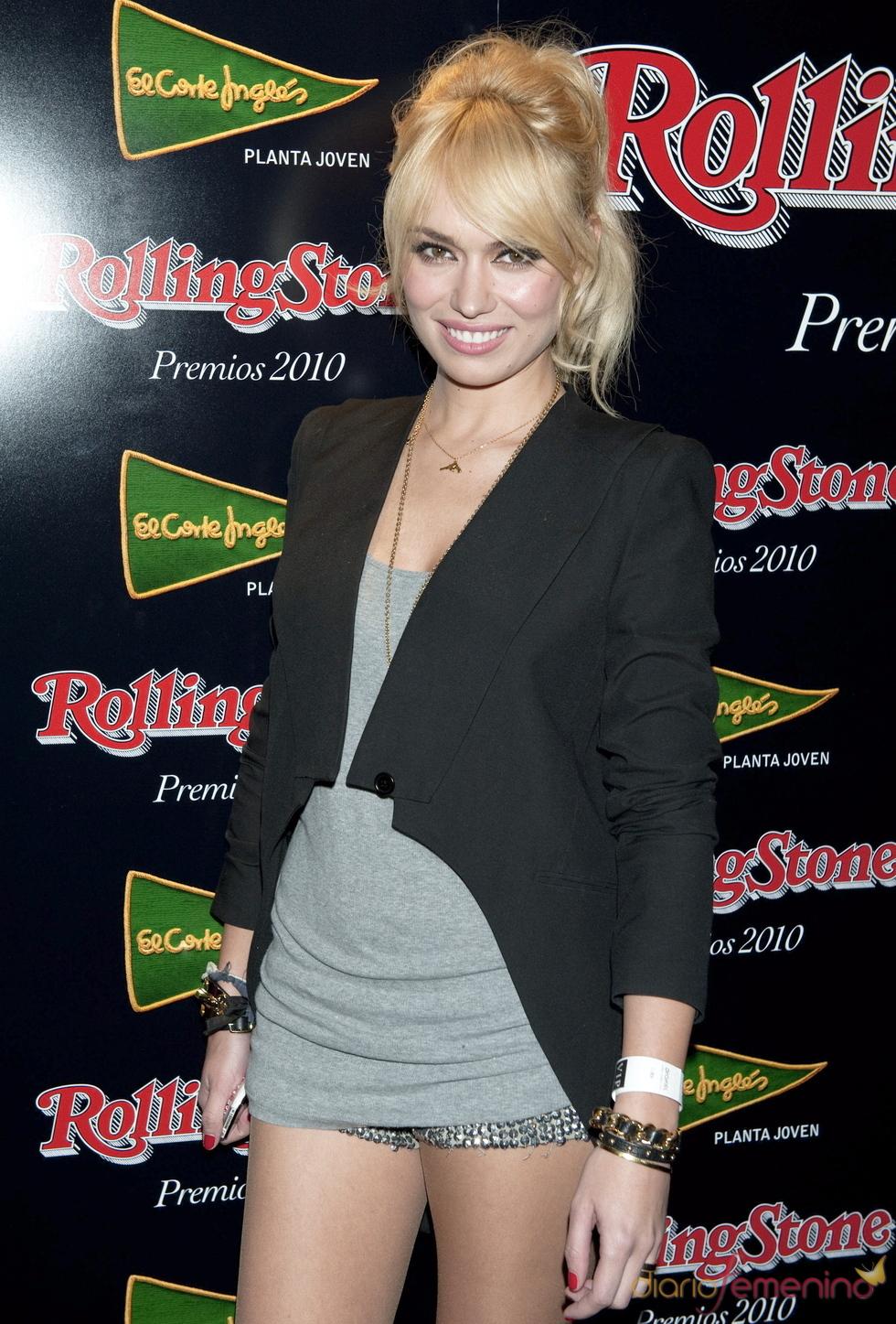 Premios Rolling Stone 2010 con Patricia Conde