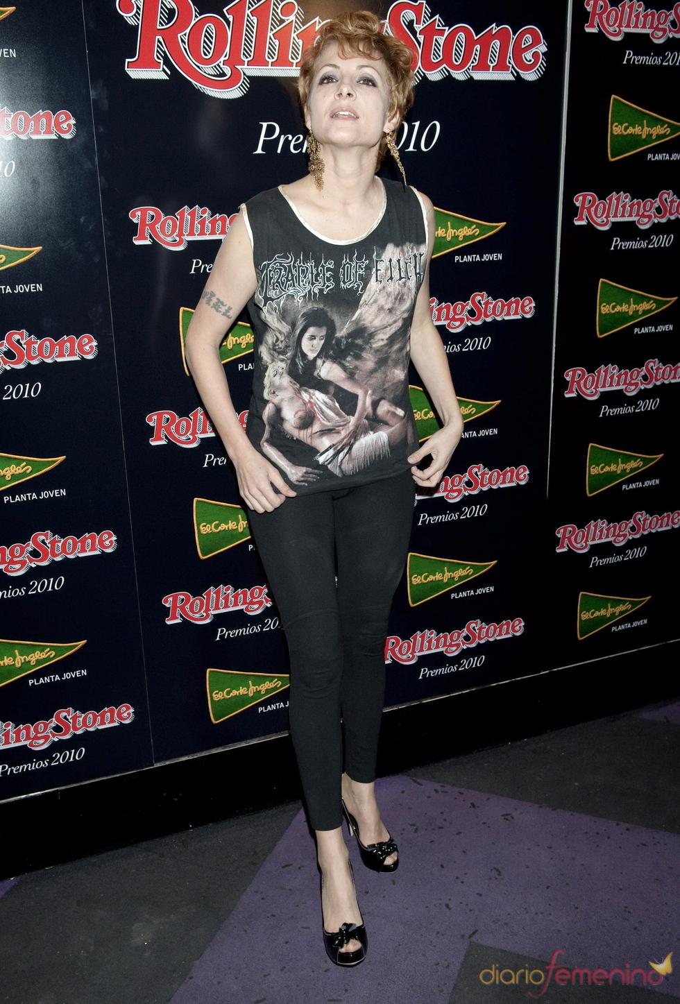 Najwa Nimri en los Premios Rolling Stone 2010