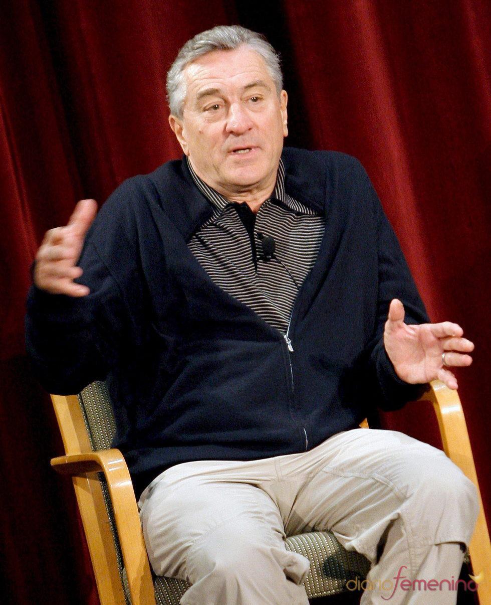 Robert de Niro durante un estreno