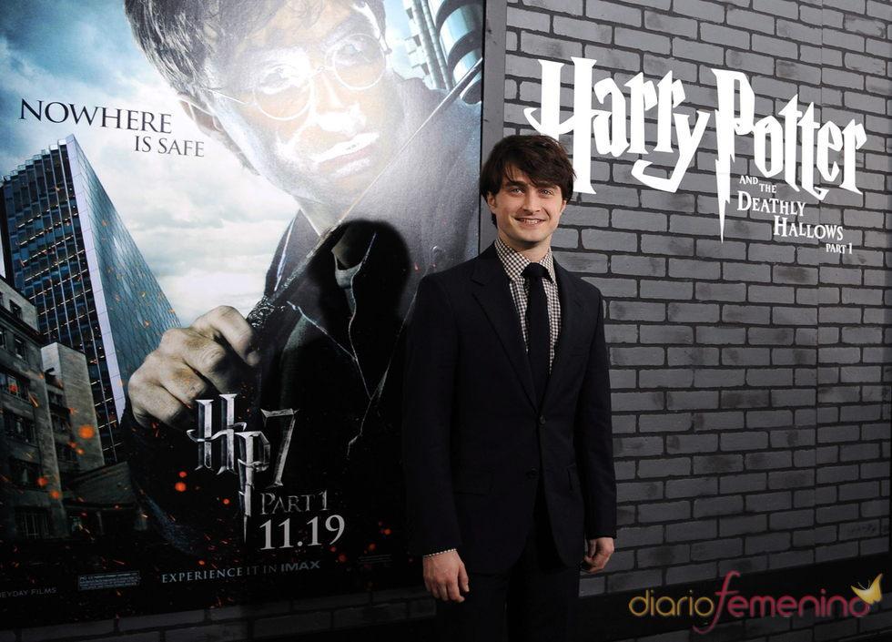 Daniel Radcliffe en la presentación de 'Harry Potter y las reliquias de la muerte 1'
