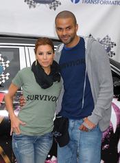 Tony parker y Eva Longoria
