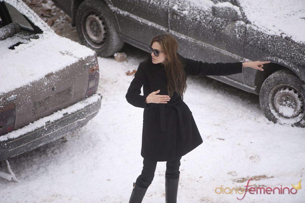 Angelina Jolie rueda en Sarajevo