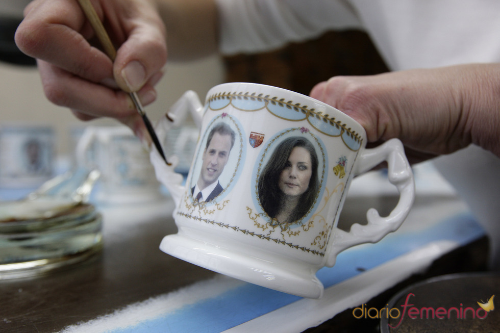 Taza del Príncipe Guillermo y Kate Middleton