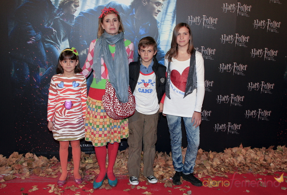 Agatha Ruiz de la Prada, fan de Harry Potter