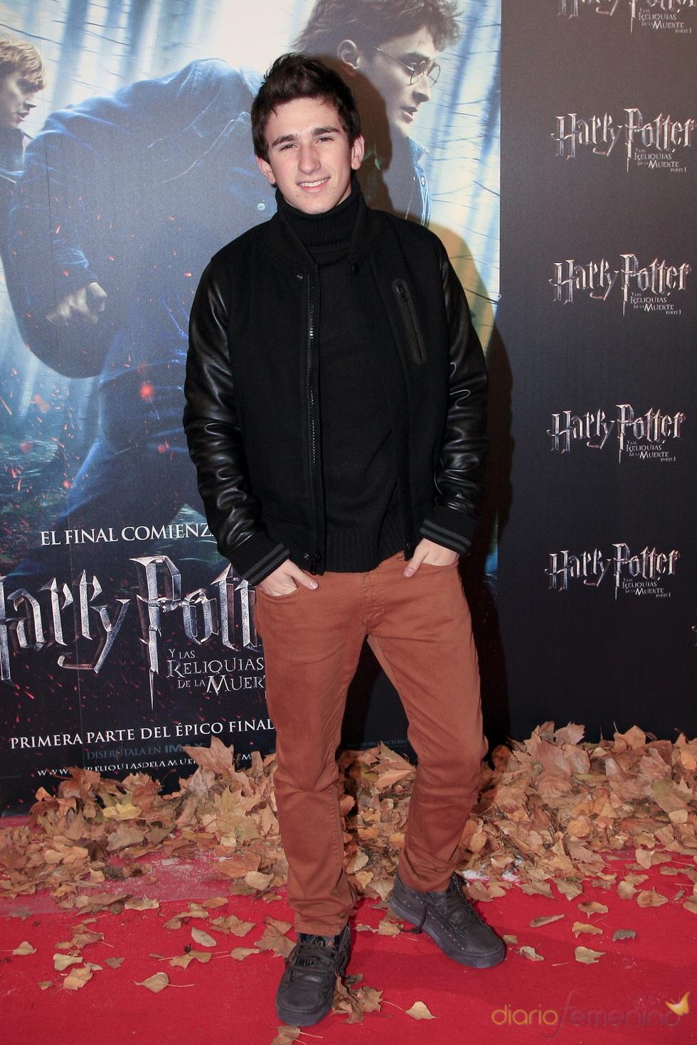 Estreno de 'Harry Potter y las reliquias de la muerte' con David Castillo