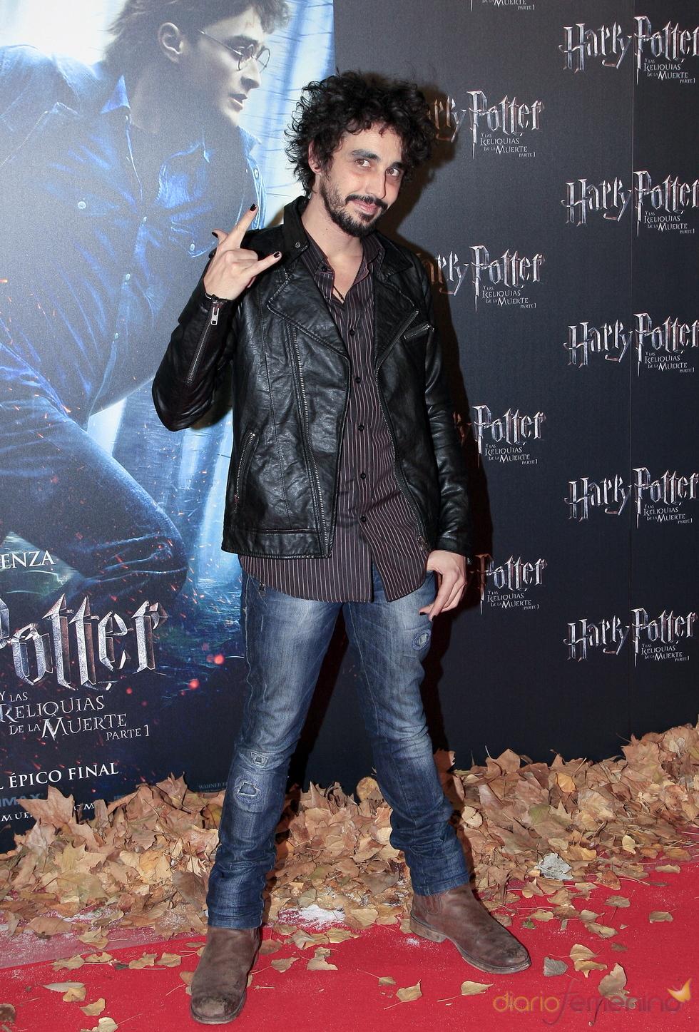 Canco Rodríguez, fan de Harry Potter