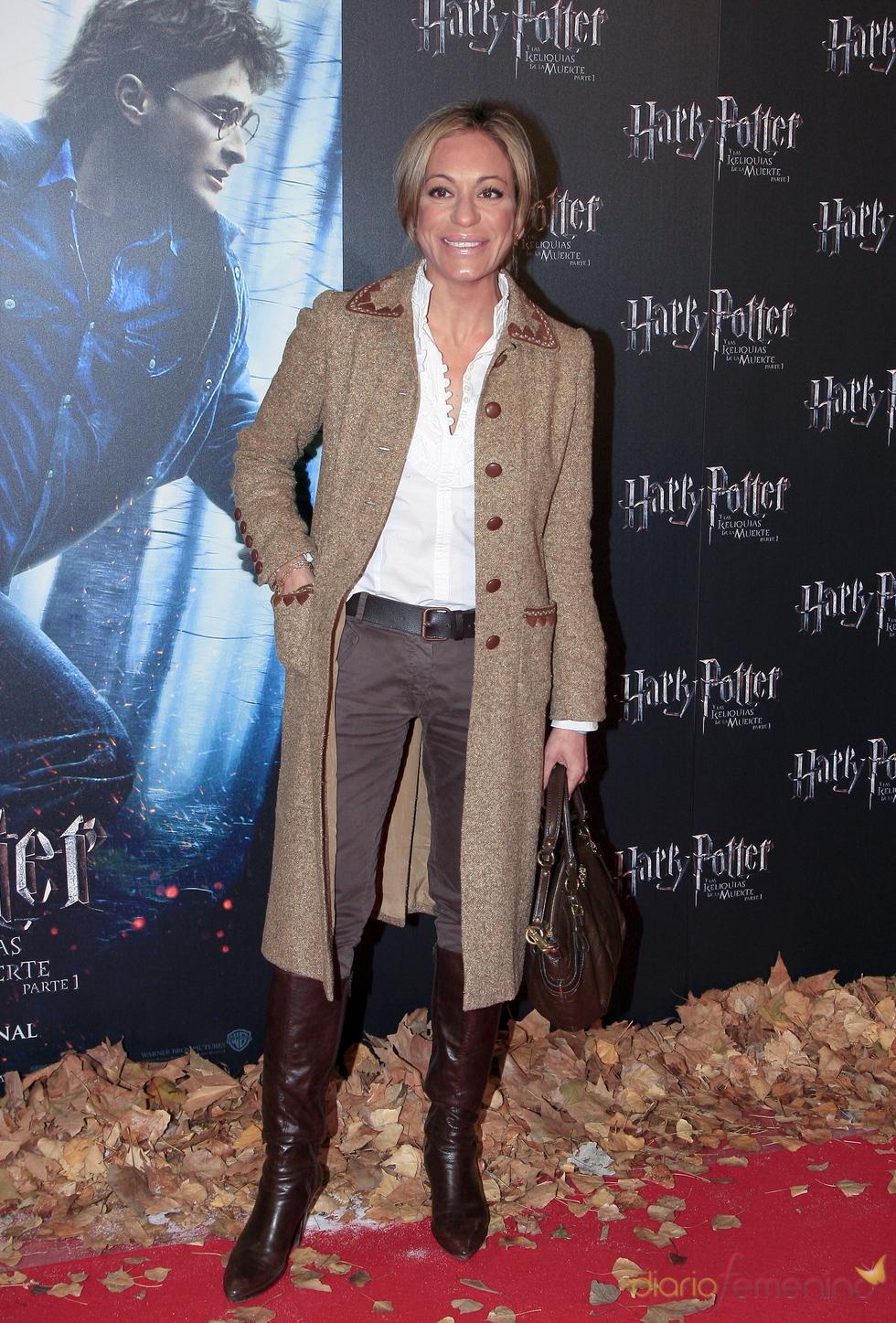 Estreno de 'Harry Potter y las reliquias de la muerte' con Gemma Ruiz