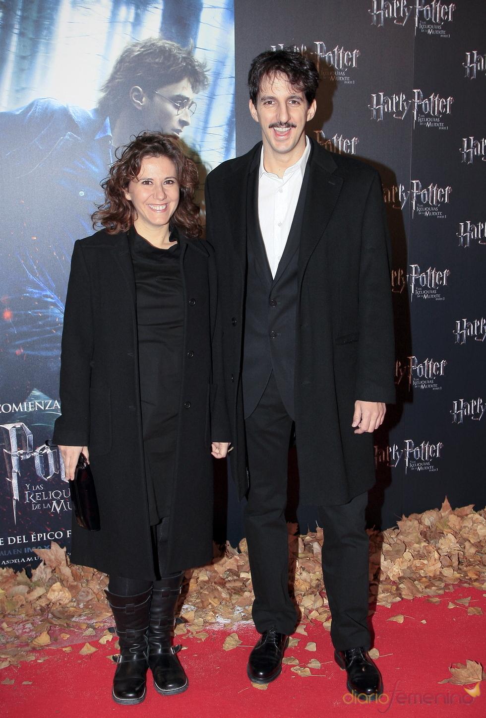 Fátima Baeza y Guillermo Ortega, fans de Harry Potter
