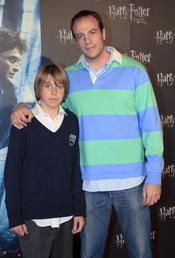 Fran Murcia e hijo, fans de Harry Potter