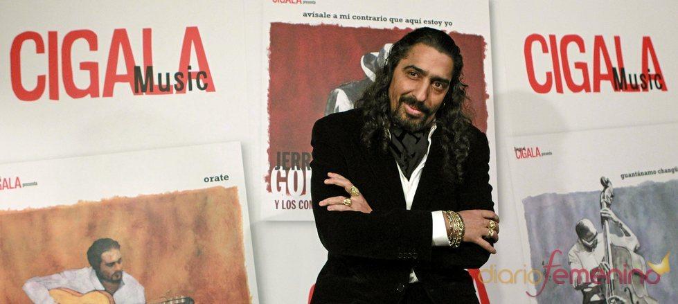 El Cigala en la presentación de su discográfica