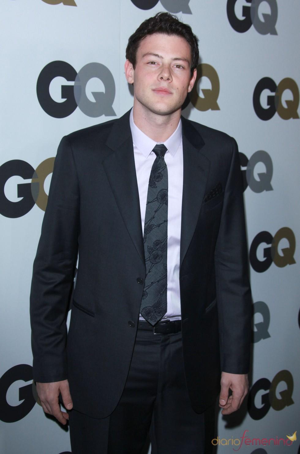Cory Monteith en la Fiesta GQ 2010