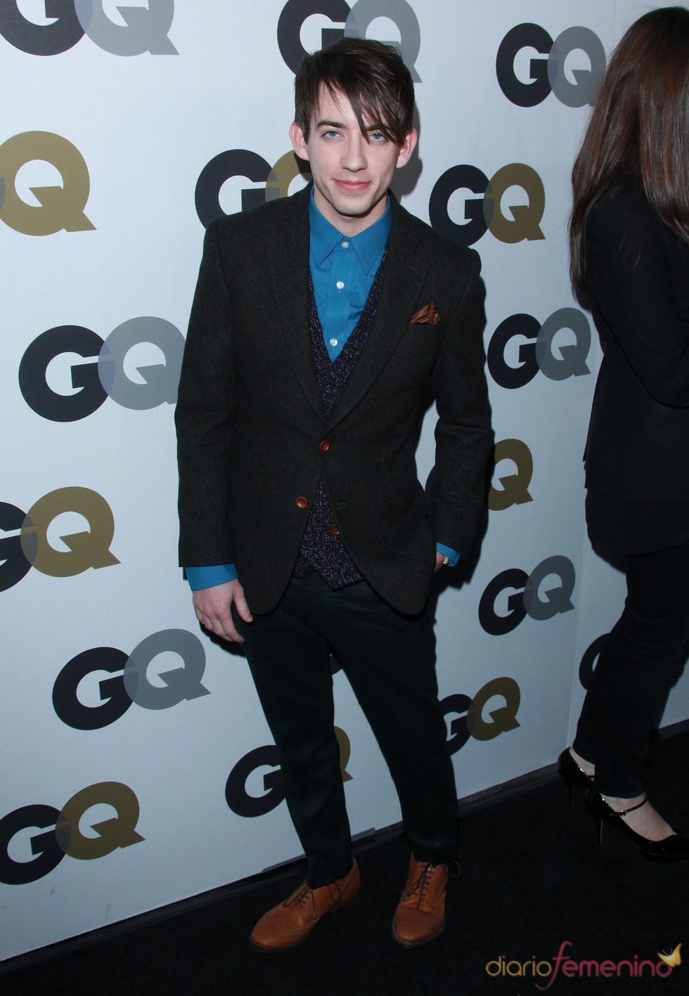 Kevin McHale en la Fiesta GQ 2010