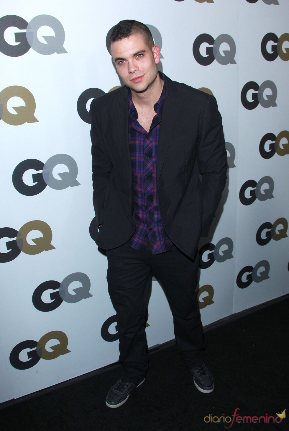 Mark Salling en la Fiesta GQ 2010