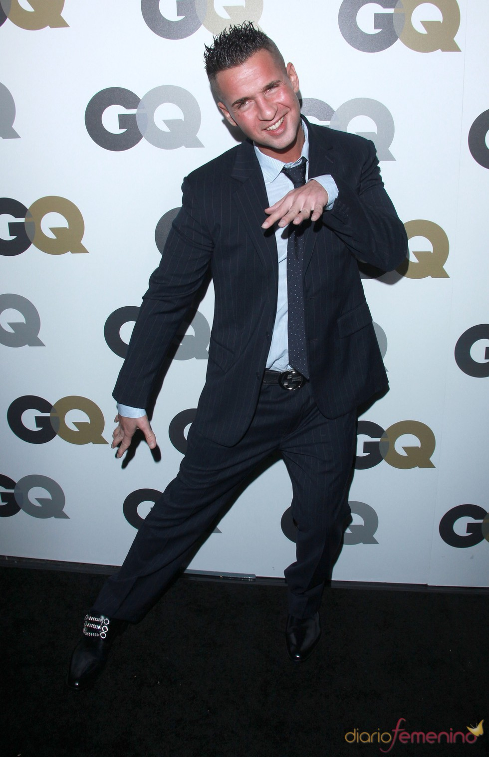 Mike Sorrentino en la Fiesta GQ 2010