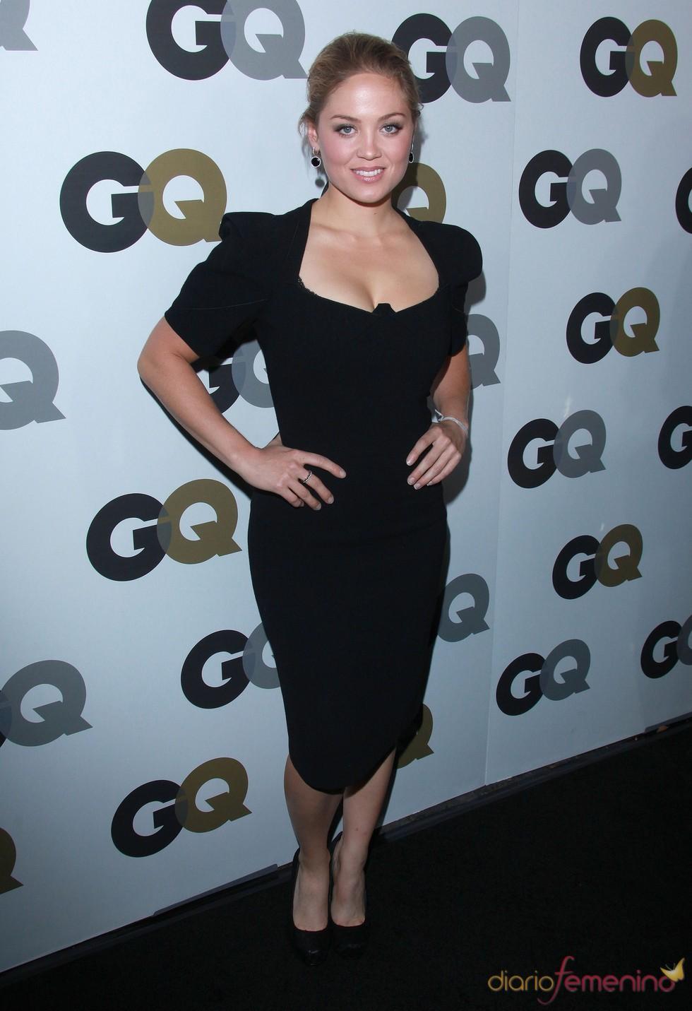 Erika Christensen en la Fiesta GQ 2010