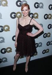 Jessica Chastain en la Fiesta GQ 2010