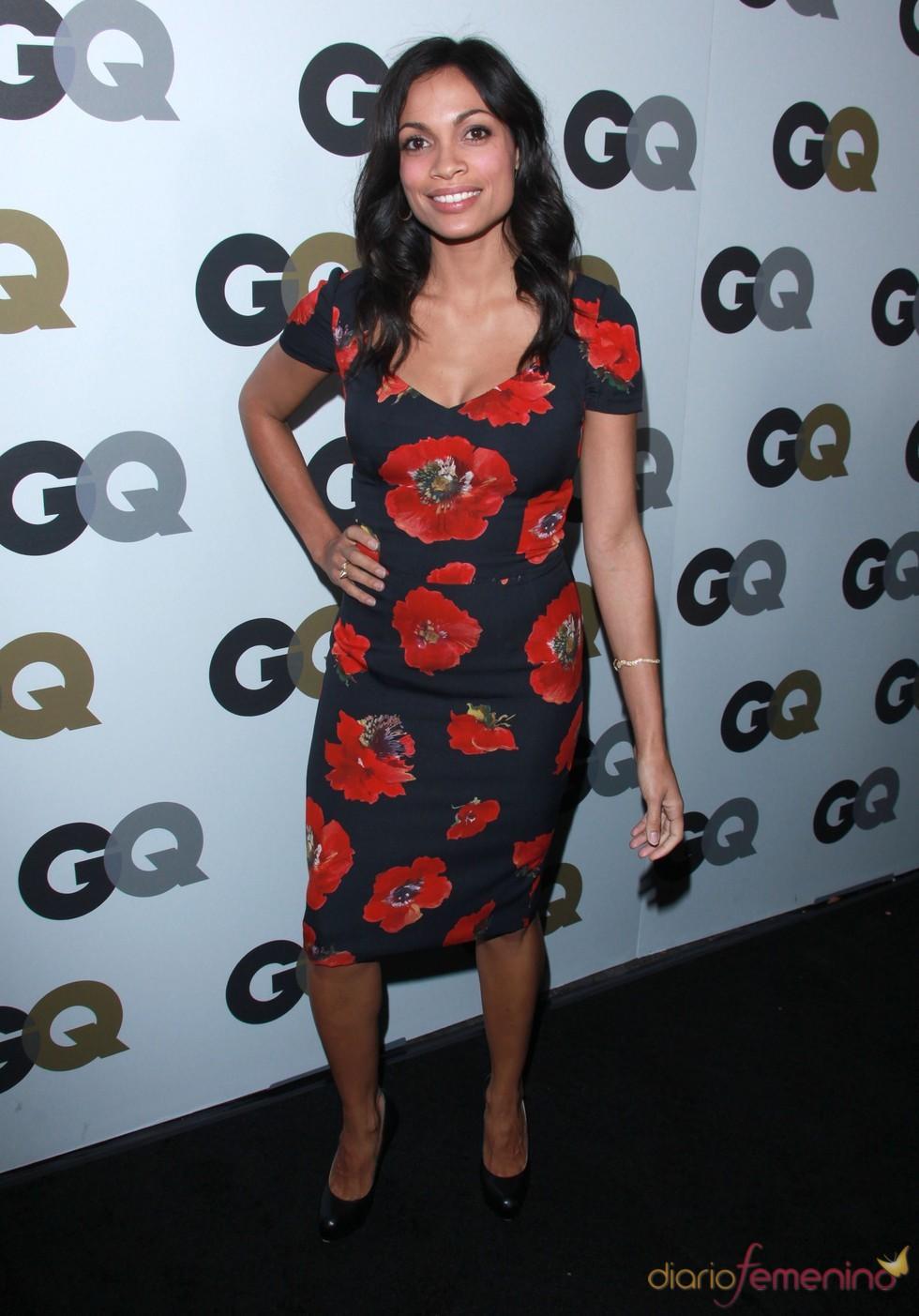 Rosario Dawson en la Fiesta GQ 2010