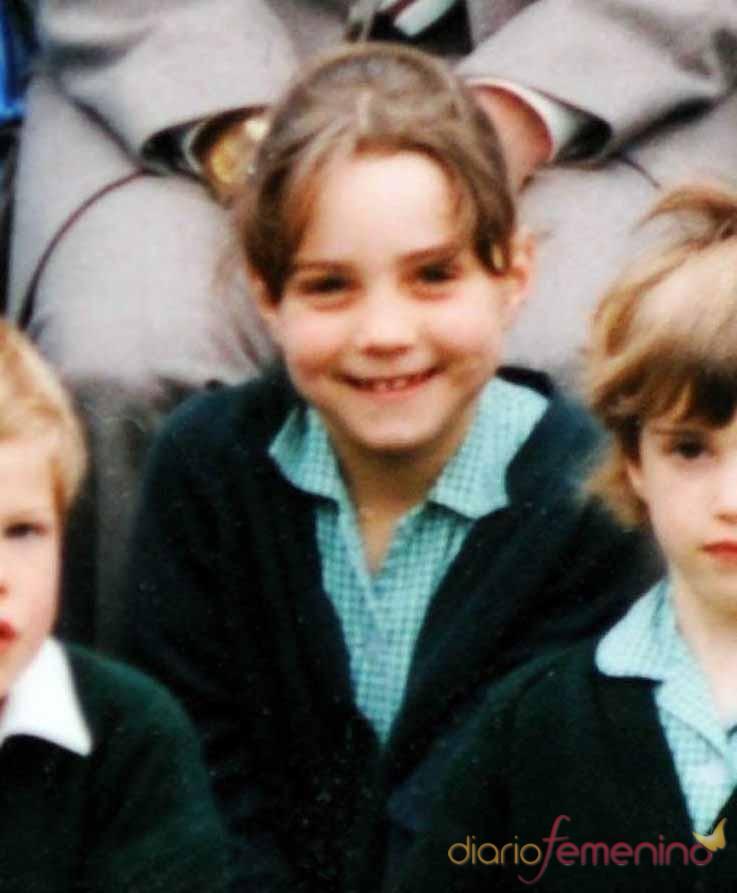 Kate Middleton en su etapa escolar