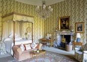 Dormitorio de la casa escocesa de Lady Gaga
