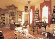 Salón de la casa escocesa de Lady Gaga