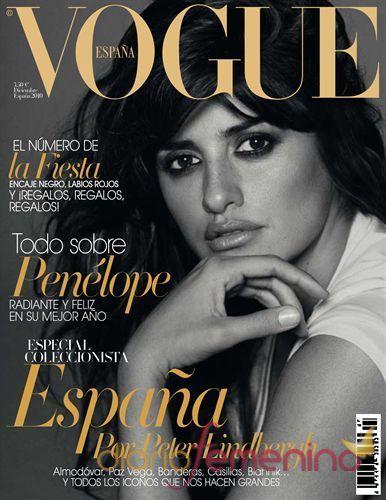 Penélope Cruz portada de Vogue España