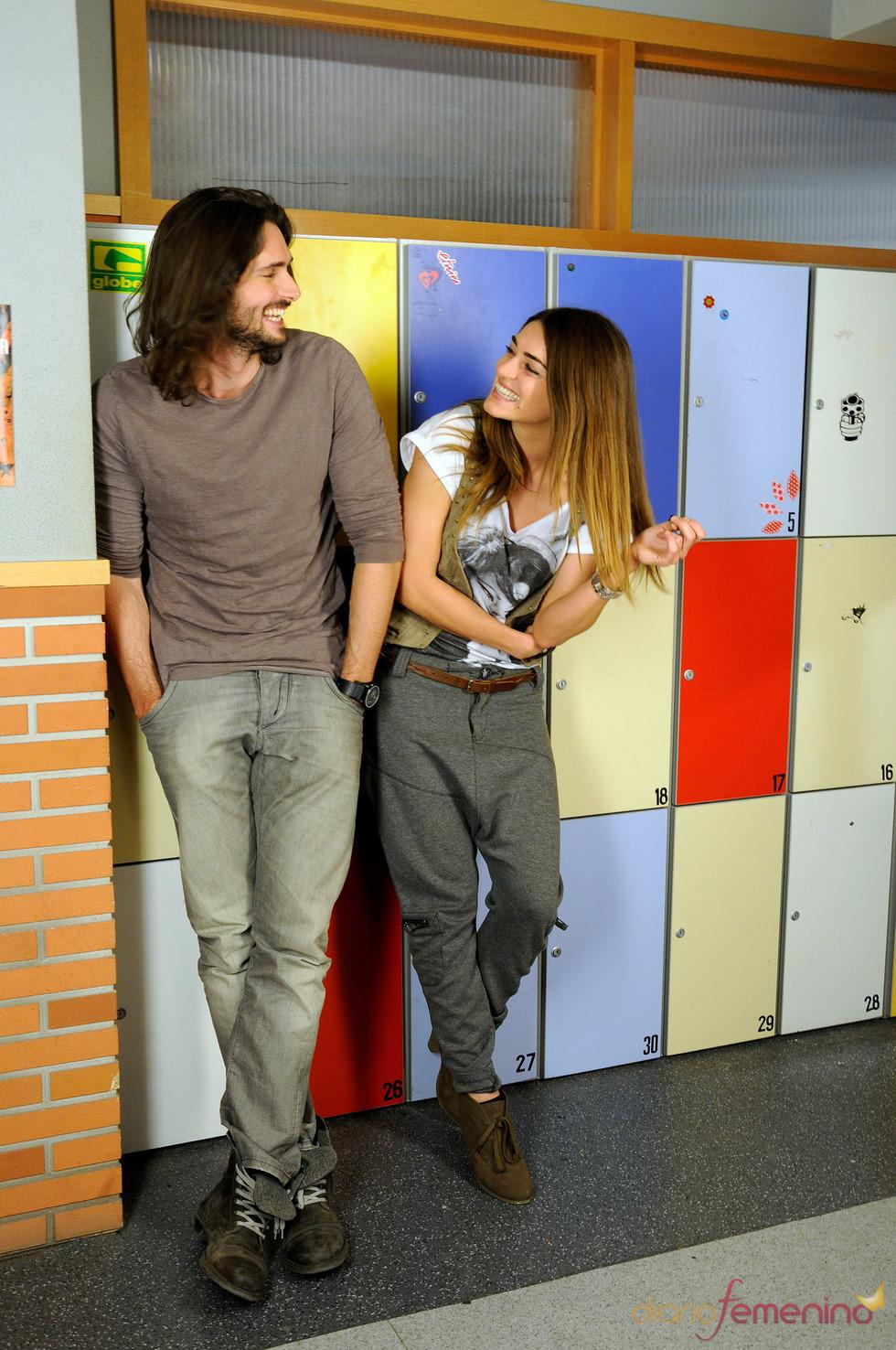 Olivia Molina y Sergio Mur mantienen un romance