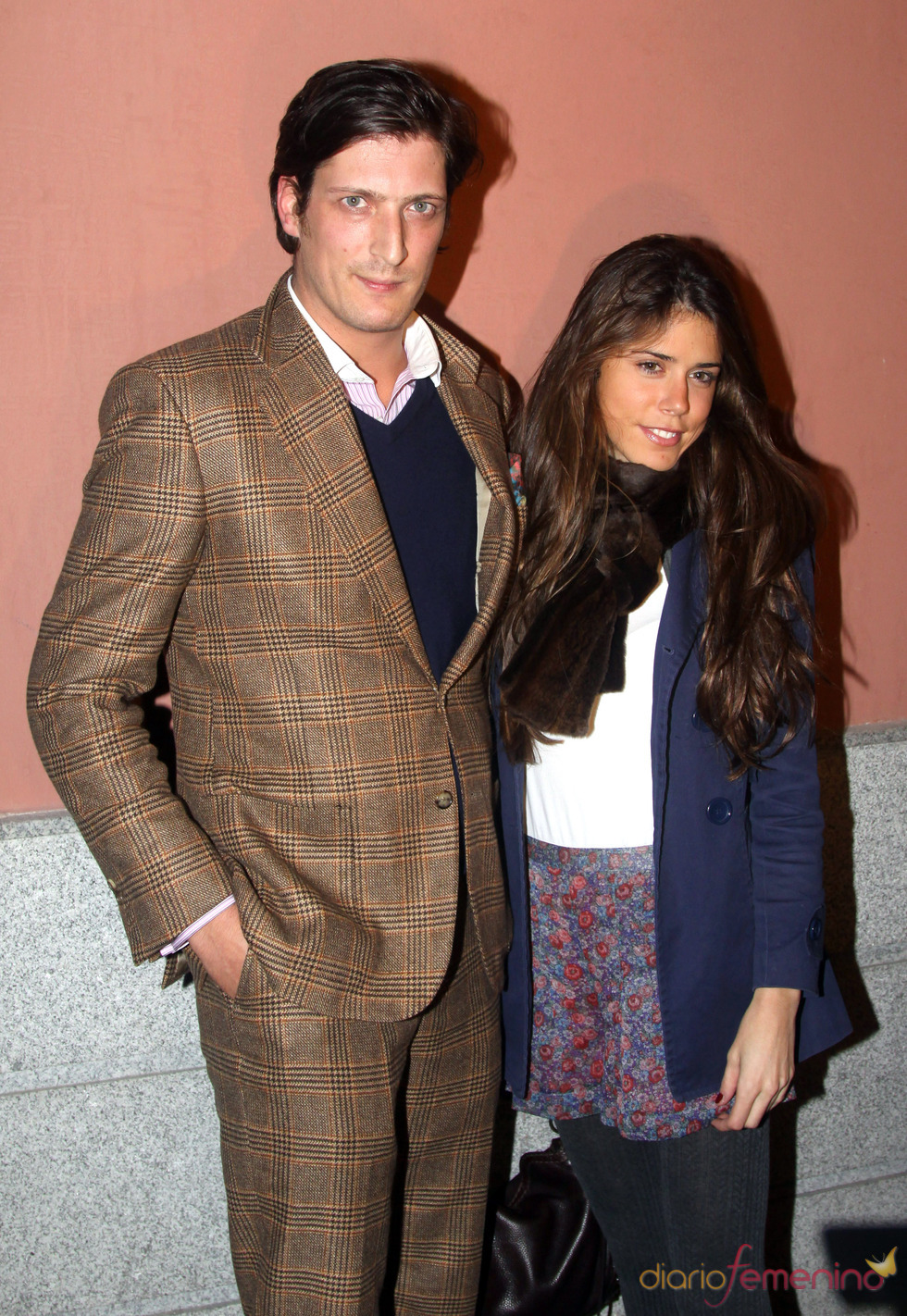 Luis Medina y su nueva novia