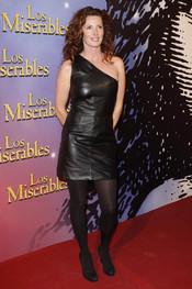 La actriz Verónica Mengod en el estreno de 'Los Miserables'