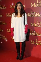 Nuria Roca acudió a la inaguración del musical de 'Los Miserables'