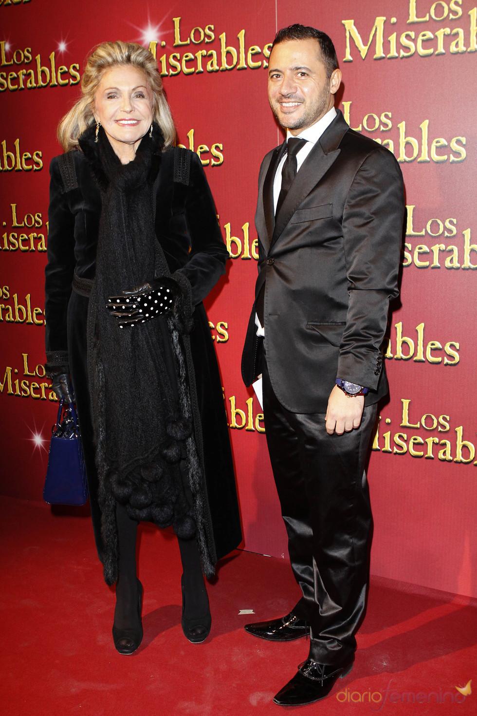 Beatriz de Orleans no faltó al estreno de 'Los Miserables'