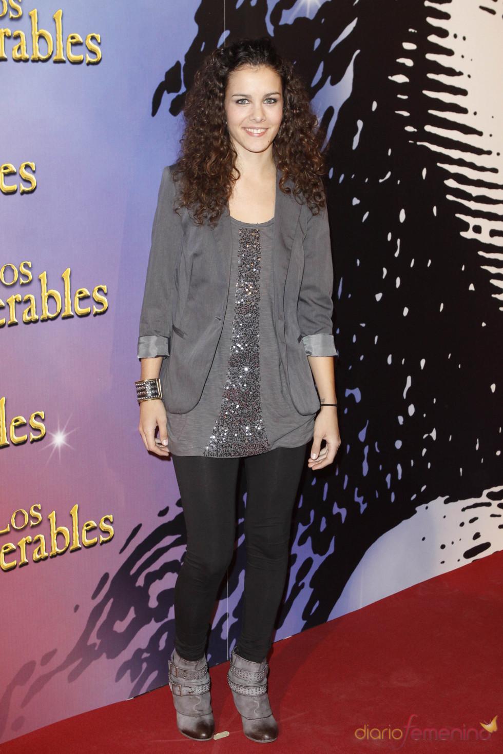 Sandra Blazquez en el musical de 'los Miserables'