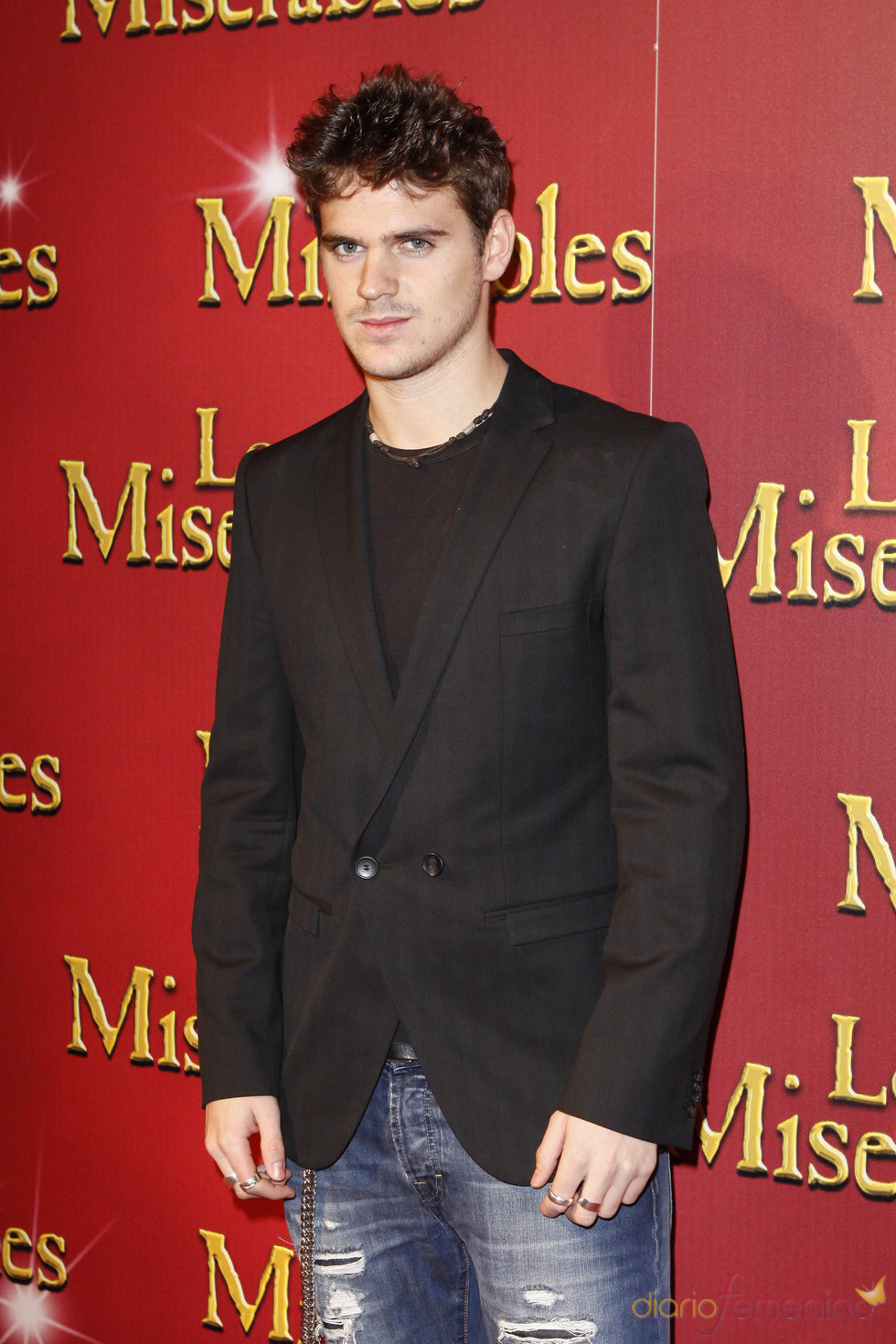 Gonzalo Ramos acudió al estreno de 'Los Miserables' en la Gran Vía madrileña
