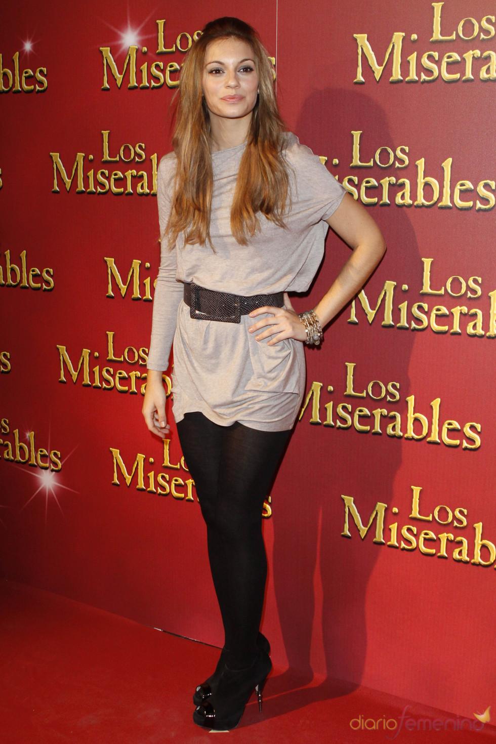 Norma Ruiz en la presentación de 'Los Miserables' en Madrid