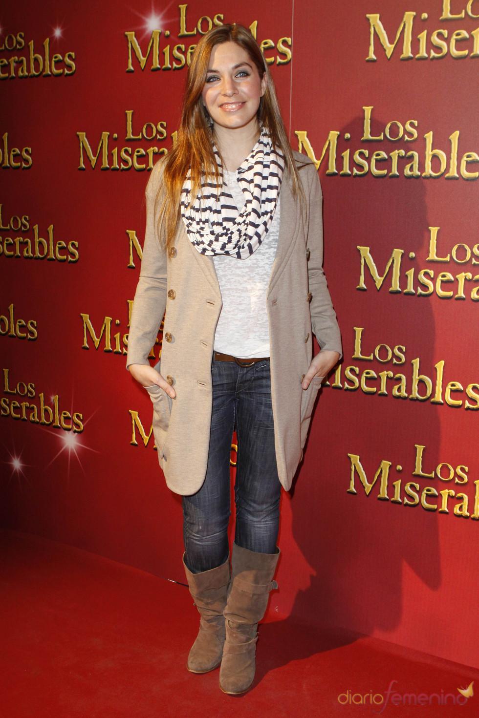 Leire Martínez en el musical de 'Los Miserables'