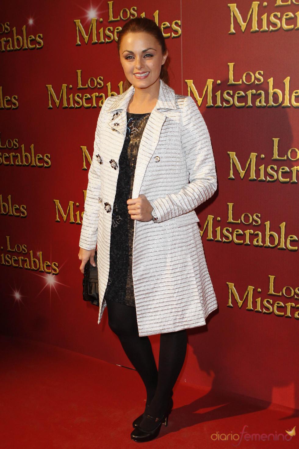 Carmen Morales en el musical de 'Los Miserables'