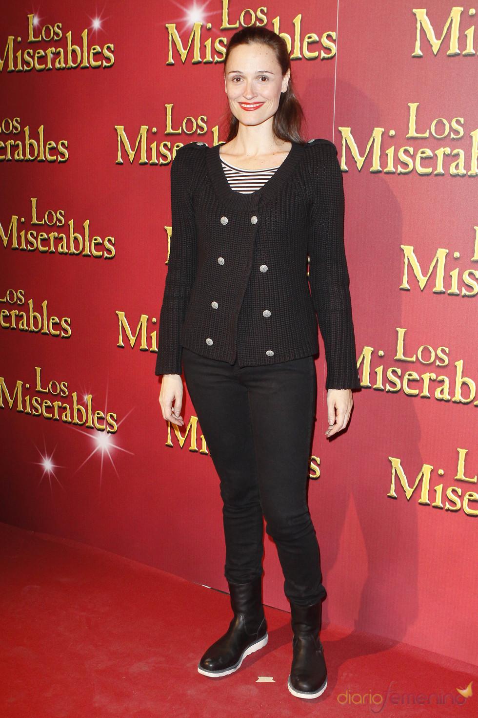 Laura Pamplona acudió al estreno de 'Los Miserables'