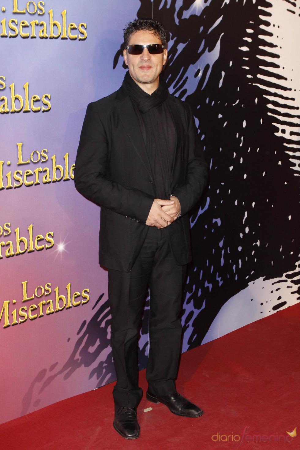 Serafín Zubiri en el estreno de 'Los Miserables'